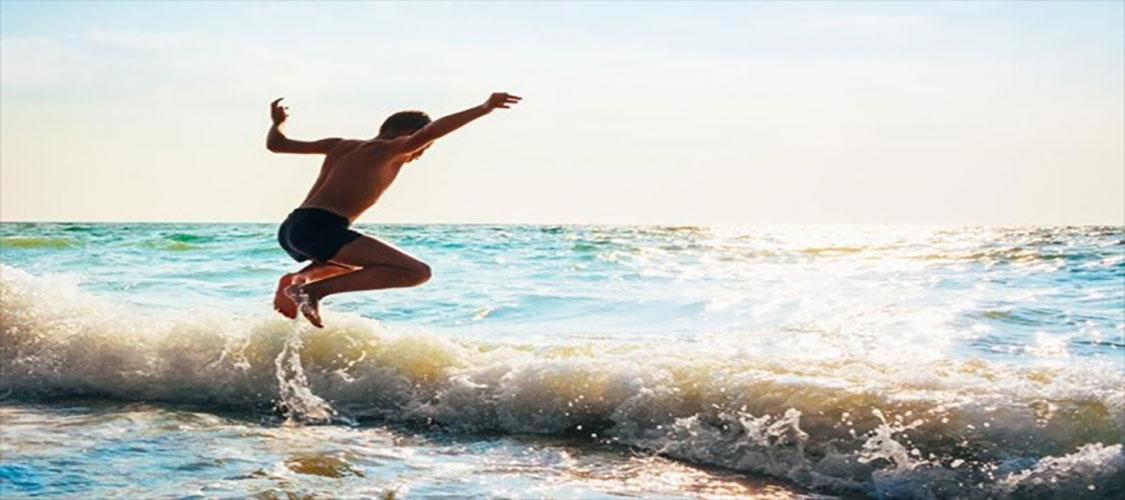 Ασκήσεις στη θάλασσα