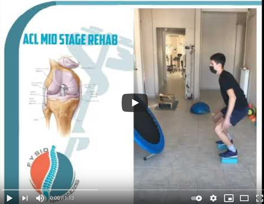 Acl mid stage rehab