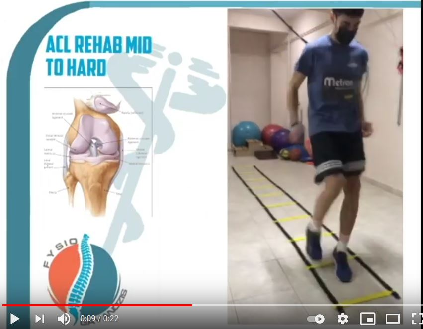 ACL Rehab Mid to Hard Stage